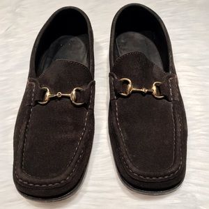 Gucci Shoes | Gucci Suede Loafers